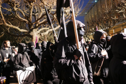 В Калифорнийском университете в Беркли избили сторонника Трампа