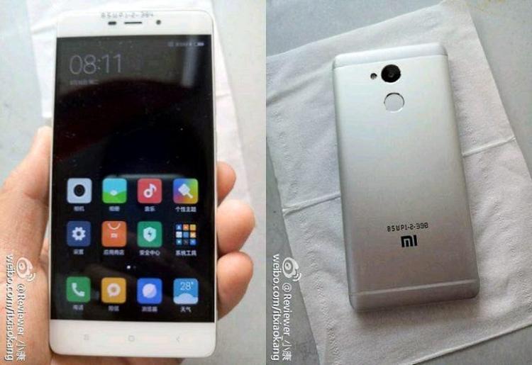 Смартфон Xiaomi Redmi 4 с аккумулятором на 4000 мА·ч предстал на изображениях