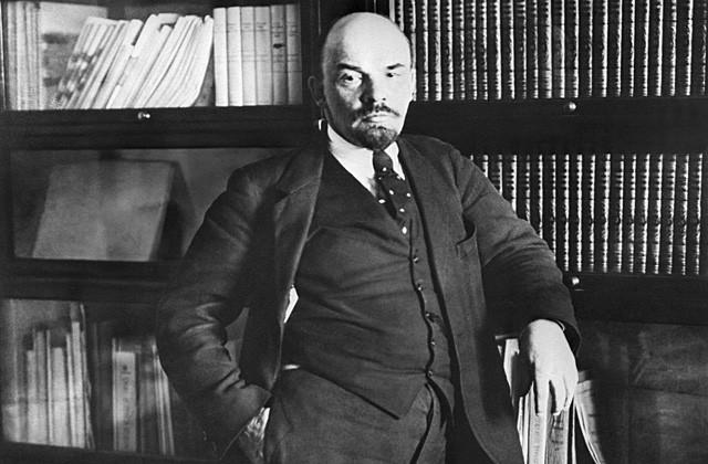 Владимир Ленин. Репродукция Фотохроники ТАСС
