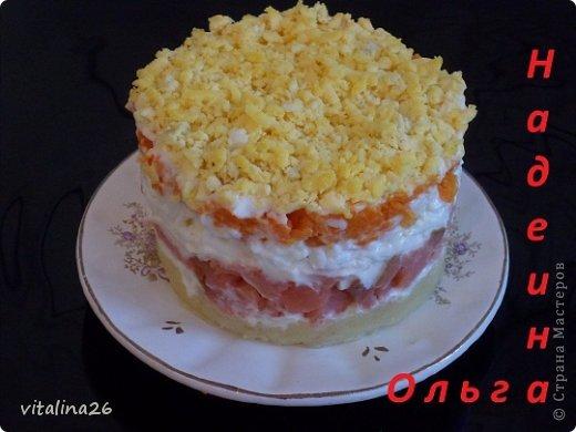 Кулинария Рецепт кулинарный Порционные салатики+ мини мк Продукты пищевые фото 2