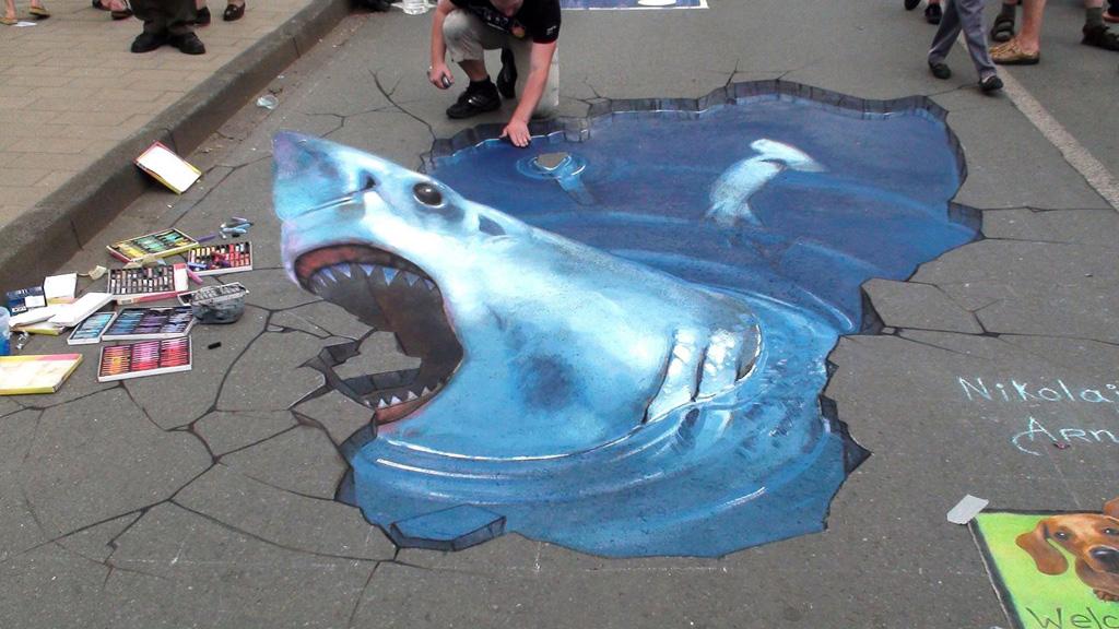 3d 17 Уличные 3D рисунки Николая Арндта