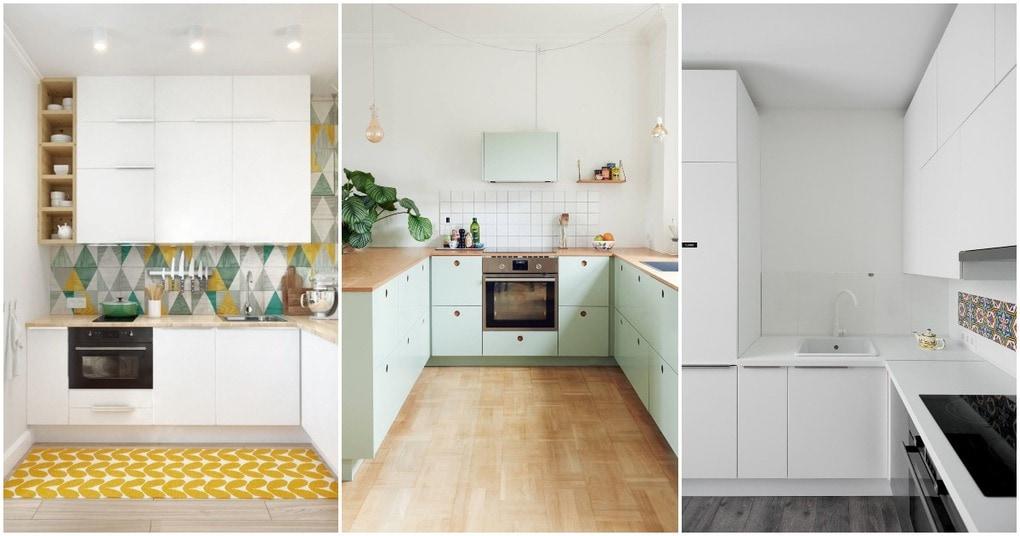 Маленькая, но идеальная: идеи для маленьких кухонь