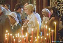 Лишь 7% православных христиан посещают храм, чтобы исповедоваться и причащаться