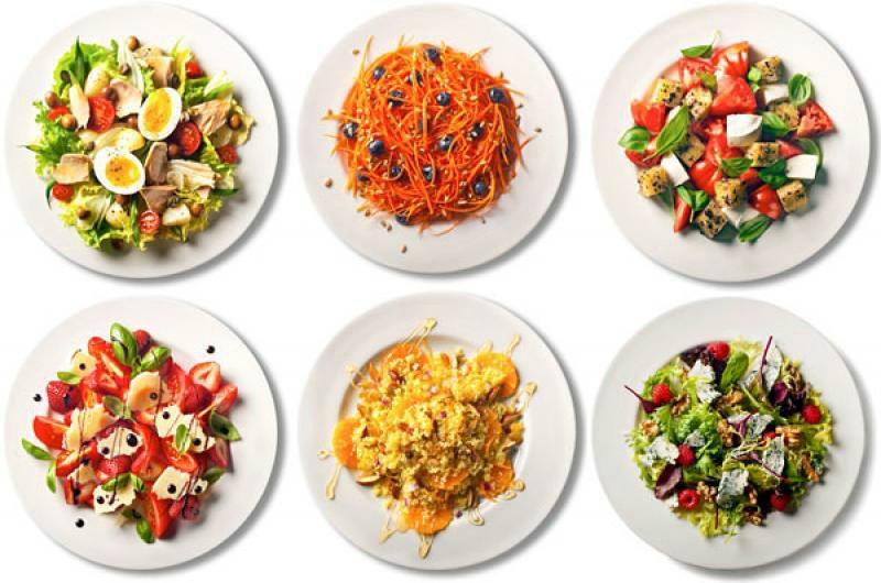 Салаты для похудения - лучшие рецепты