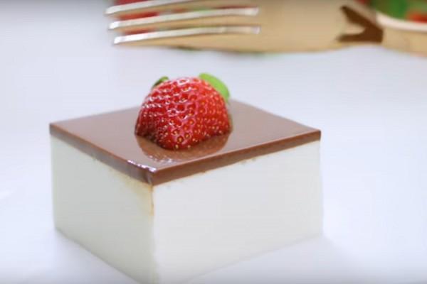 Вкуснейший десерт к праздничному столу «Птичье молоко» без выпечки