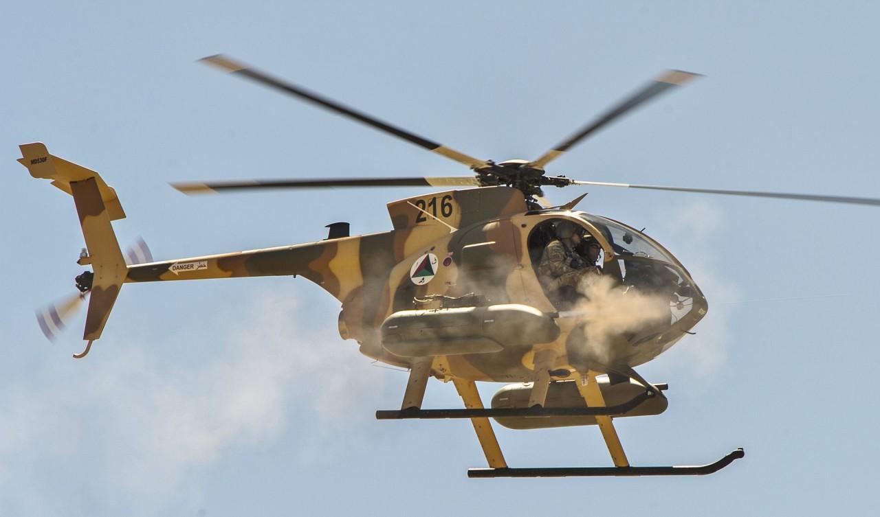 Контракт на 150 легких боевых вертолетов MD 530F для Афганистана