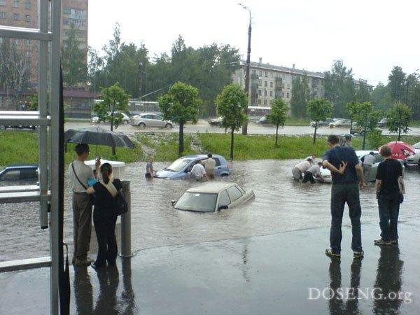 Дожди и что из них вытекает(24 фото)
