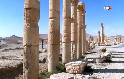 Минобороны обнародовало видео разрушения ИГ памятников Пальмиры