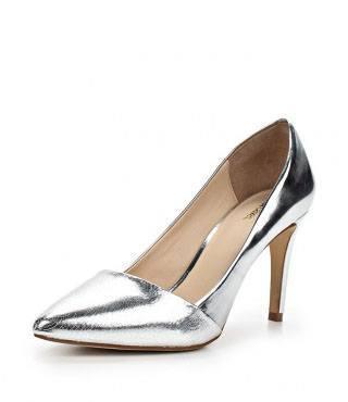 Туфли Just Cavalli серебрянные