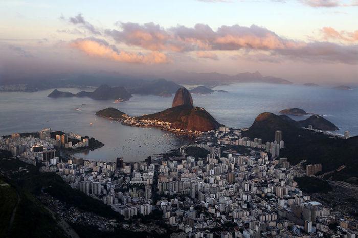 Гора Сахарная голова является достопримечательностью Бразилии.