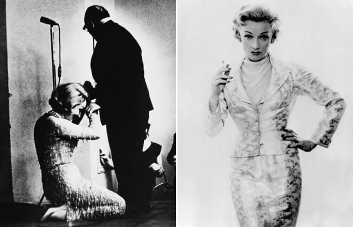 «Я встретила его слишком поздно»: Почему Марлен Дитрих встала на колени перед Константином Паустовским