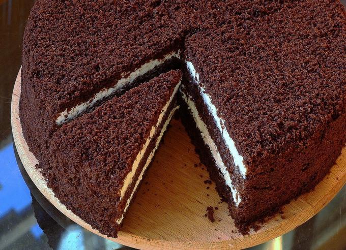 Волшебный торт