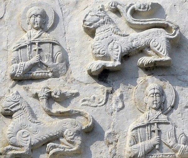 БЕЛОКАМЕННАЯ РЕЗЬБА ГЕОРГИЕВСКОГО СОБОРА В ЮРЬЕВ-ПОЛЬСКОМ