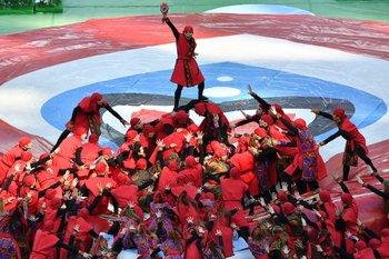 В Петербурге прошла церемония открытия Кубка Конфедераций