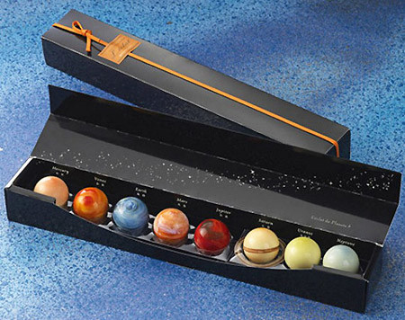 Шоколадные планеты