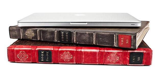 BookBook — чехол для MacBook Air/Pro в виде старинной книги