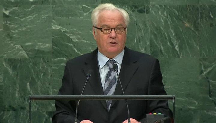 Генассамблея ООН призвала всех прекратить в Сирии боевые действия, чтобы бандиты могли перегруппироваться