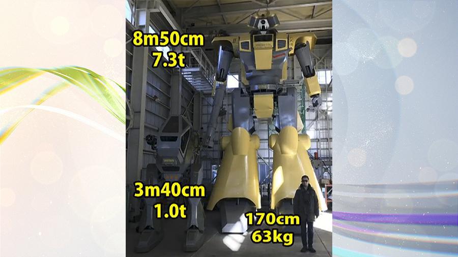 Ну и гаджеты: гигантский робот, робомобиль-доставщик и музыка из танца