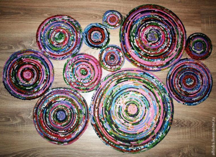 Поделки из обрезков ткани
