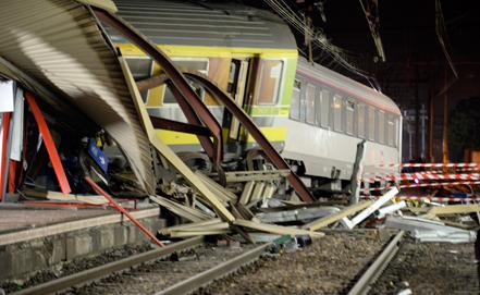 Крушение поезда под Парижем