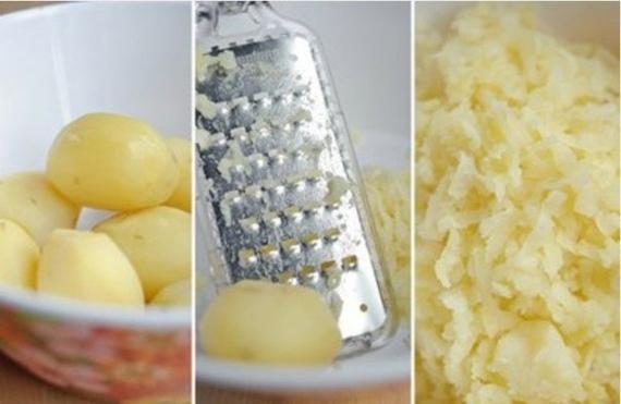 Картофельные оладьи с сыром4