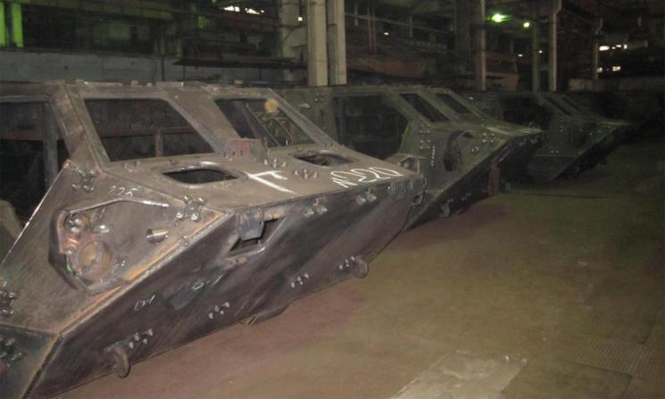 На Украине расследуется дело о бракованных корпусах бронетранспортеров БТР-4
