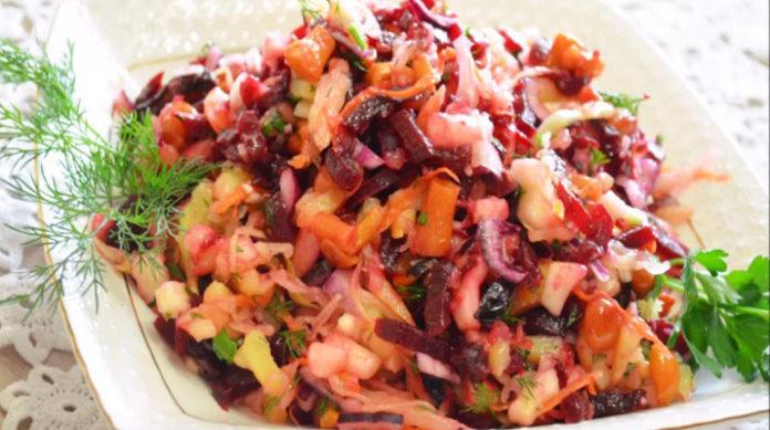 Постный салат «Покровский»