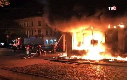 После пожара в отделении Сбербанка во Львове возбудили дело