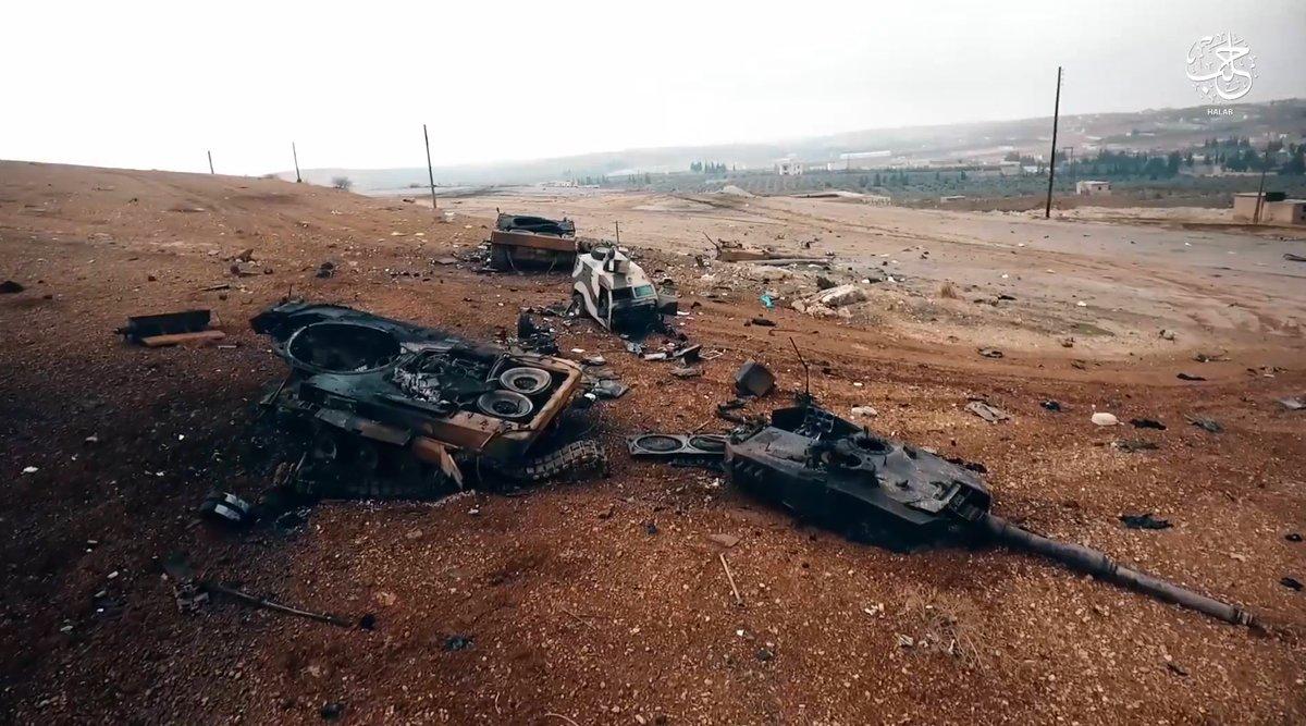 Снова битые турецкие танки Leopard 2A4