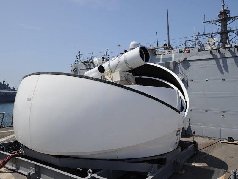 Поставим вместо ЗРС. США заявили о скором оснащении ВМС лазерным оружием