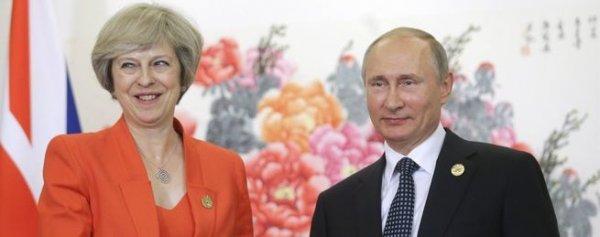 Спиритический сеанс Терезы Мэй: призрак Путина спасет Британию