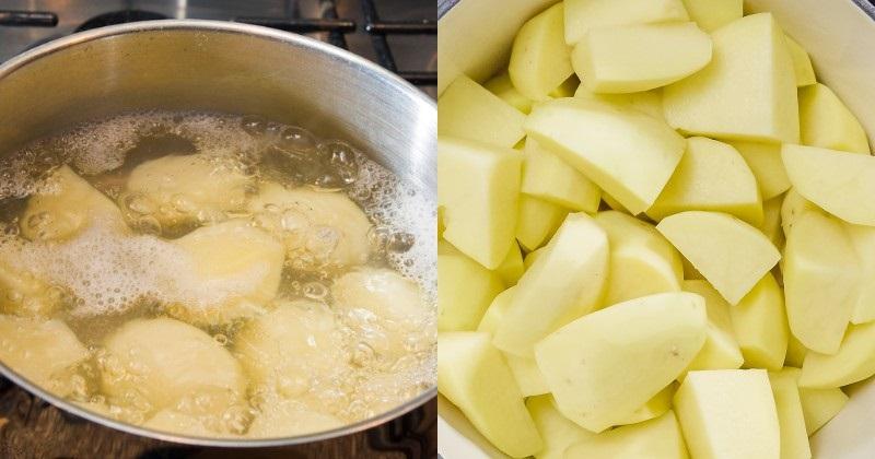 приготовление вкусного картофельного пюре