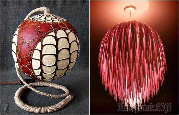 Да будет свет: 18 оригинальных плафонов, абажуров и ламп, которые можно сделать своими руками