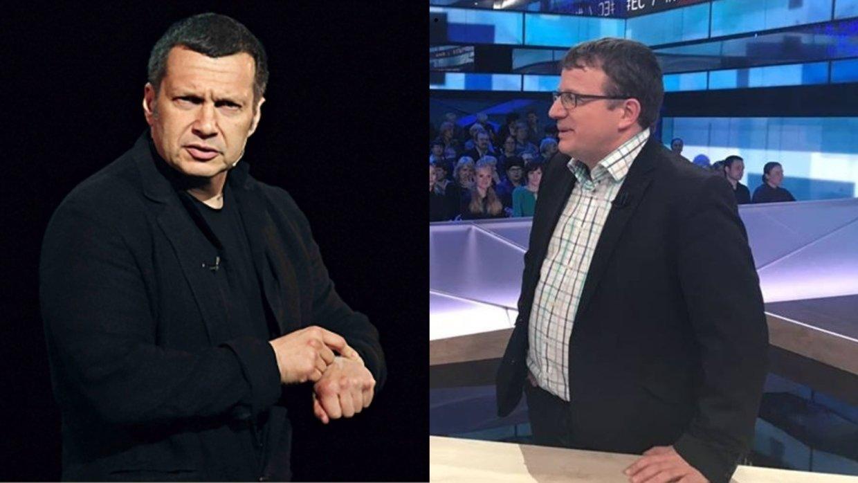 «Обе войны начинали вы»: Соловьев преподал урок истории заявившему об «агрессии РФ» немцу