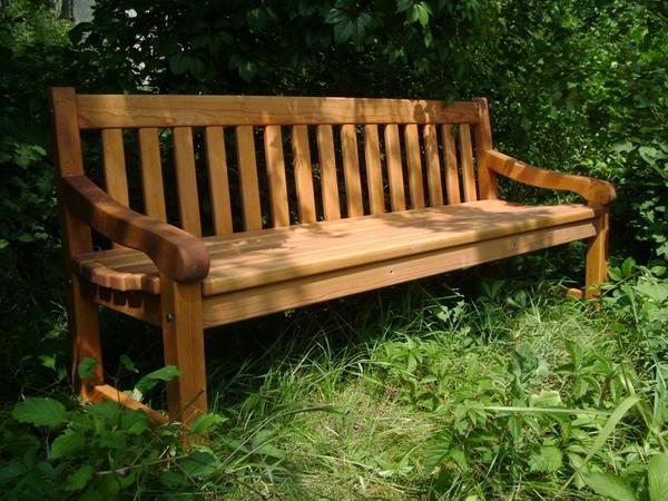 Скамья садовая деревянные своими руками