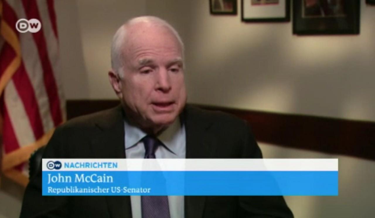 Джон Маккейн: говорить с Путиным мы будем только с позиции силы