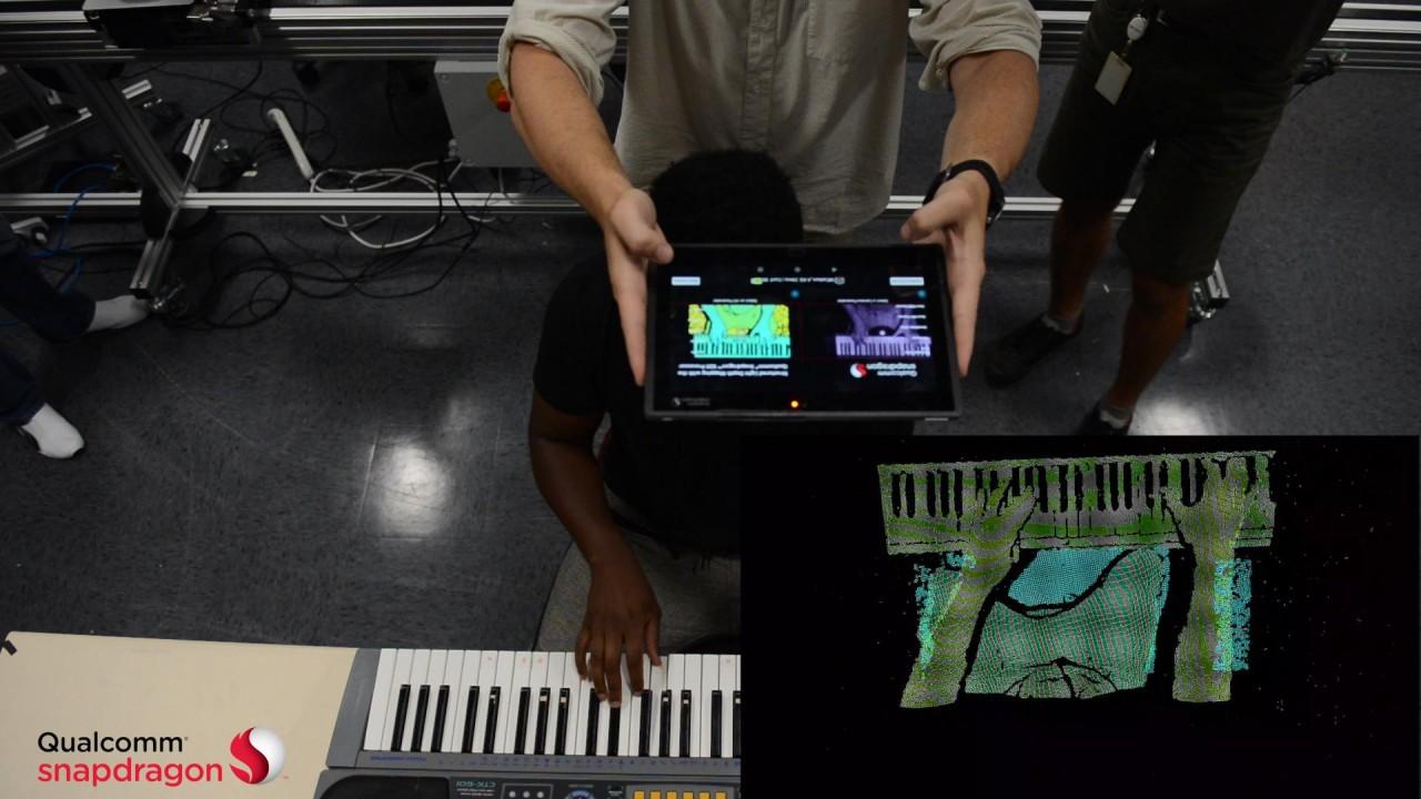 Qualcomm представила мобильную технологию трехмерного моделирования