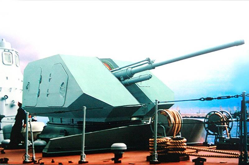 Корабельная артиллерийская установка А-220. Инфографика