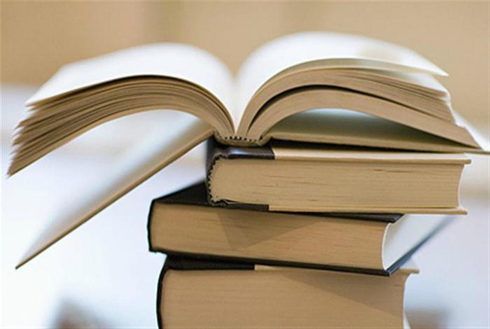Школьные учебники и массовая литература.