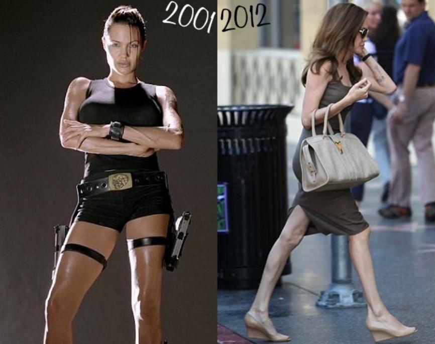 Исхудавшая Анджелина Джоли беспокоит своих поклонников