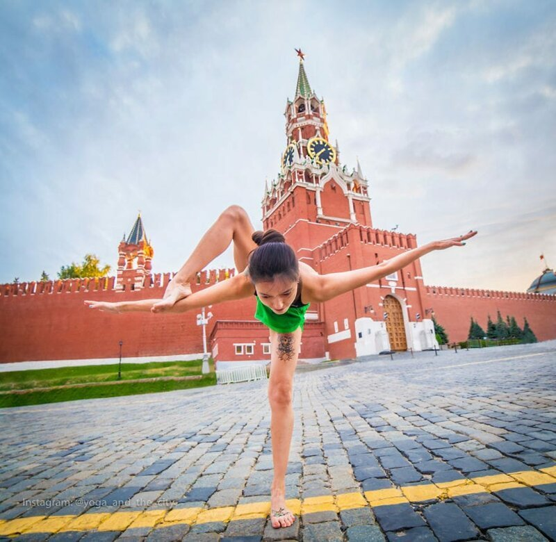 Фотограф отправился в кругосветное путешествие, чтобы показать красоту йоги в разных уголках нашего мира