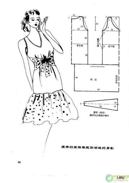 Женский летний сарафан своими руками выкройки6