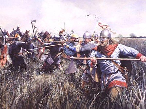 Топор в бою