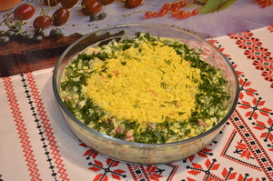 Вкуснейший салат с крабовыми…