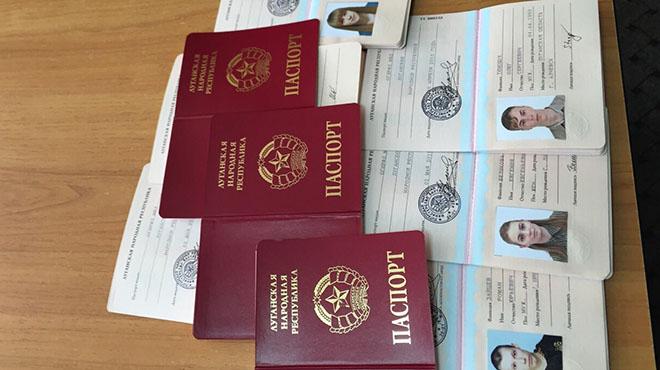 В РФ признали паспорта ЛНР и ДНР
