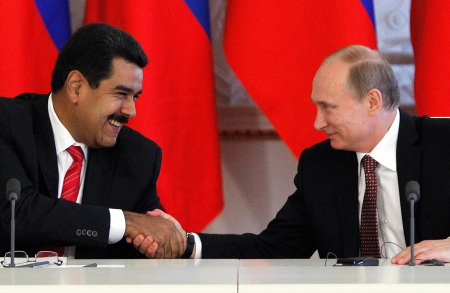 Путин довел народы России и Украины,  а теперь издевается над населением Венесуэлы!
