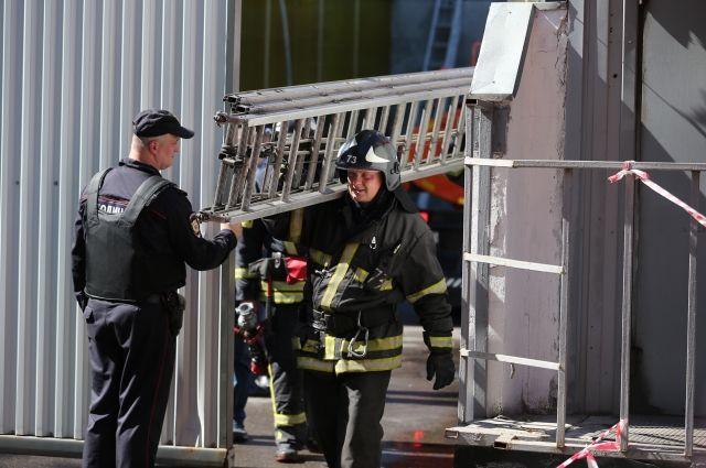 Погибшими при пожаре на складе в Москве оказались граждане Киргизии