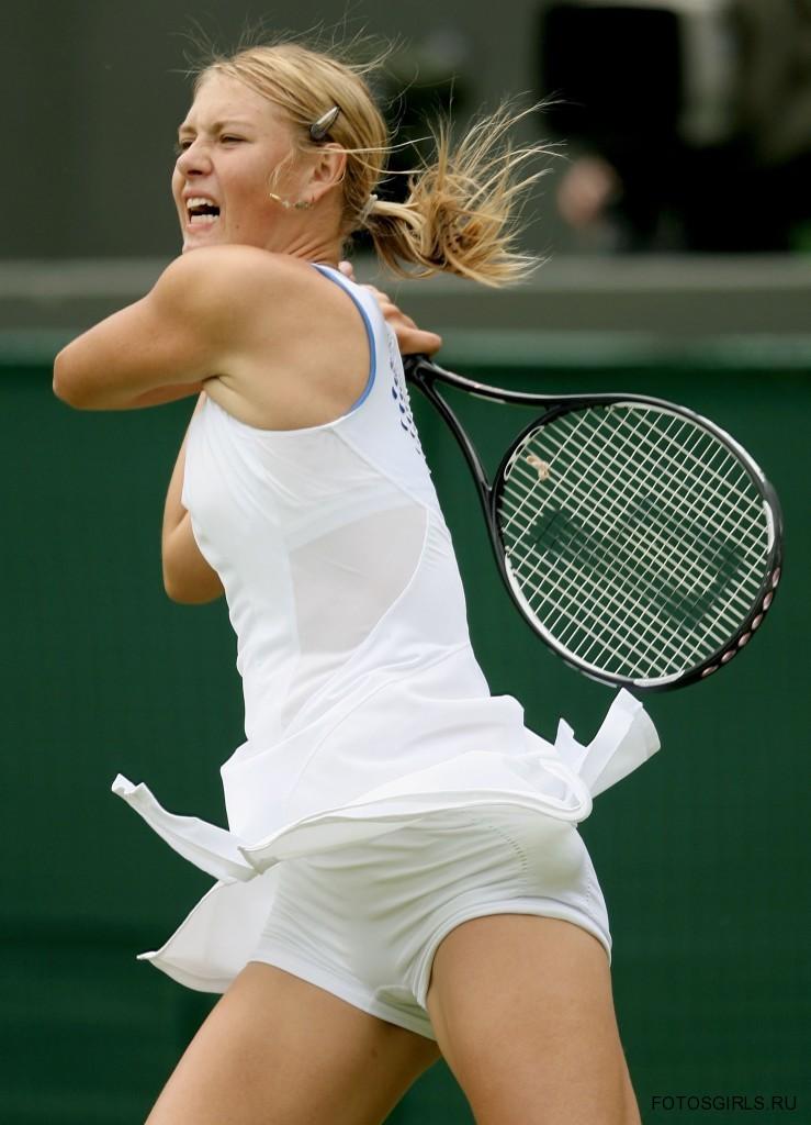 Пикантные фото теннисисток засветы