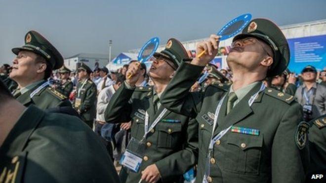 """Китайская армия в ожидании """"нового облика"""""""