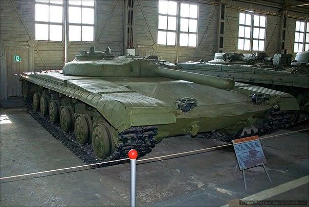 Объект 282 — опытный советский ракетный танк